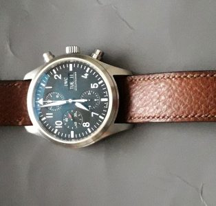 IWC, G Cleverley and 1786 Russian Reindeer Leather