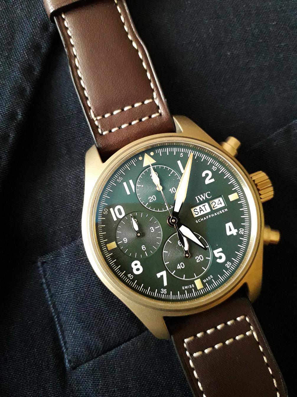 IWC Pilot's Watch Chronograph Spitfire/Goodwood – Part 2