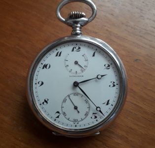 Longines Pocket Watch via a Religious Journey