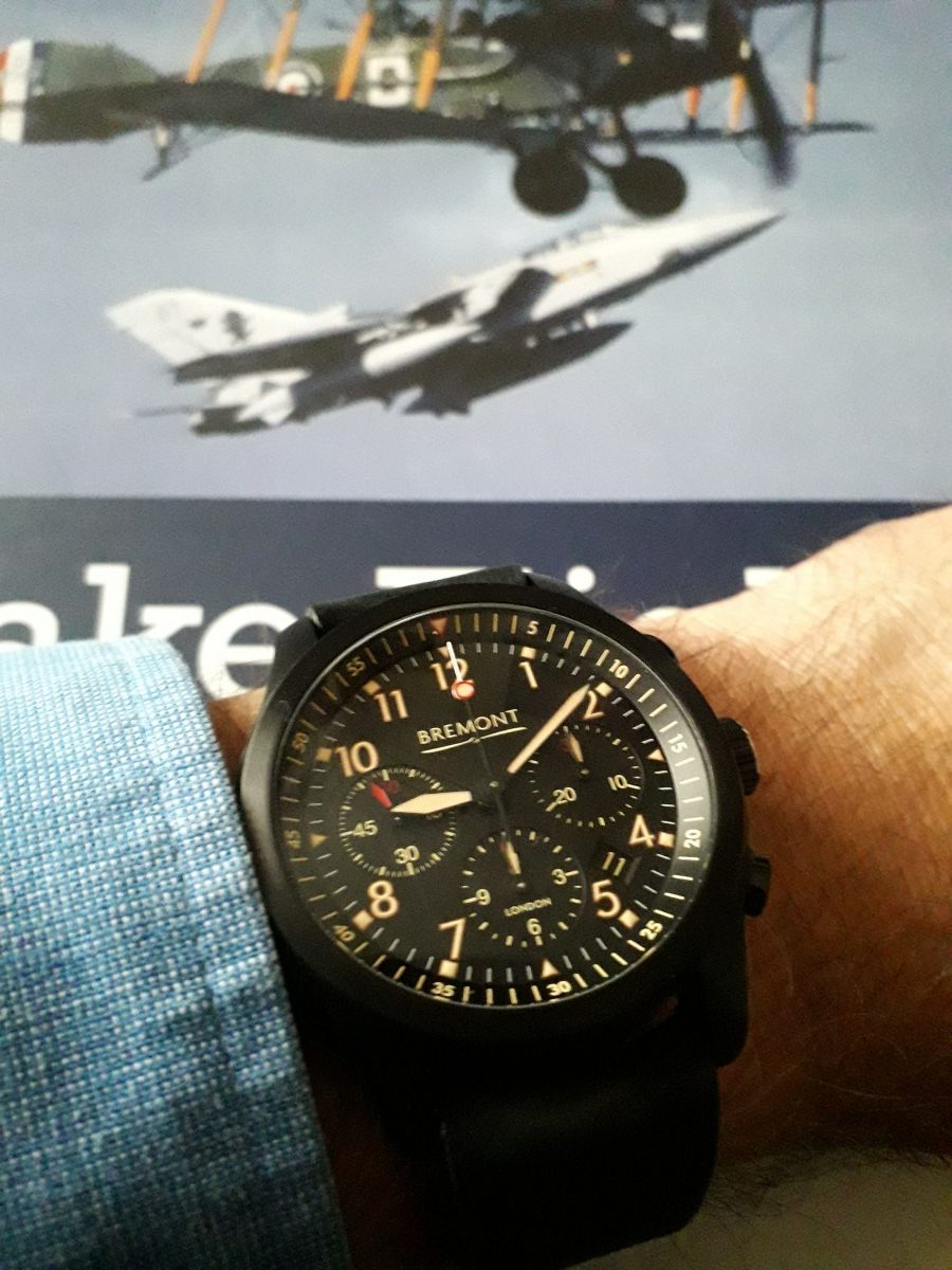 Bremont ALT1-P2 JET. A Genuine Stealth Watch!