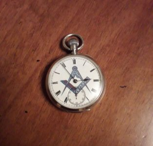 "Waltham ""Freemason"" Pocket Watch & Site Update"