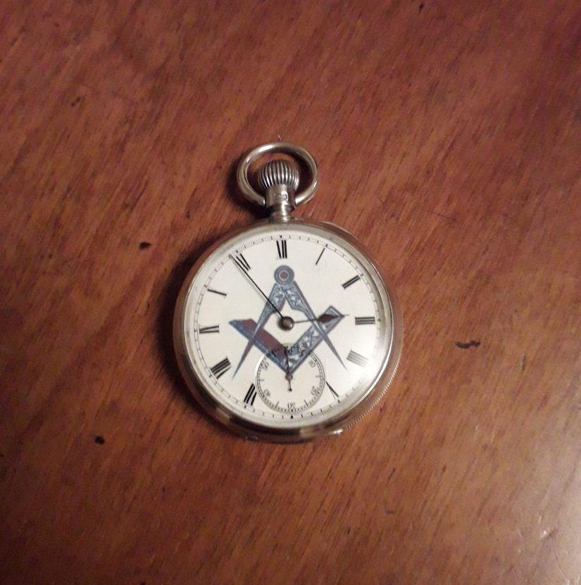 "Waltham ""Freemason"" Pocket Watch & Site Update"