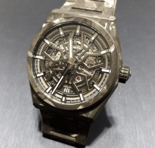 Zenith Defy Classic Carbon. Camo featherweight?