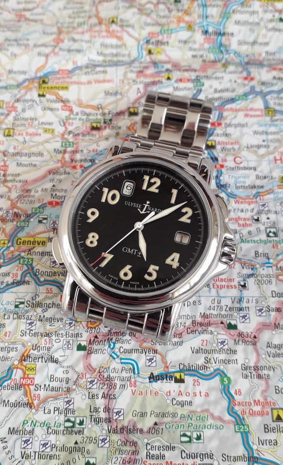 All set to travel with a Ulysse Nardin San Marco GMT?